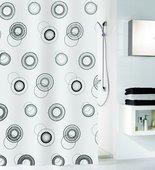 Шторка для ванной Kleine Wolke Luna, 180x200см, полиэстер 5124185305