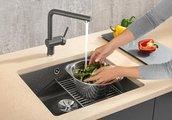 Кухонная мойка Blanco Subline 500-U PuraPlus, без крыла, отводная арматура, керамика, магнолия 523734