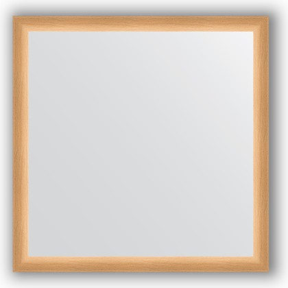 Зеркало 60x60см в багетной раме бук Evoform BY 0611