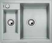 Кухонная мойка Blanco Metra 6, без крыла, с клапаном-автоматом, гранит, жемчужный 520574