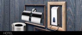 Бак для мусора 6л, полированная сталь, Bemeta Hotel 125115071