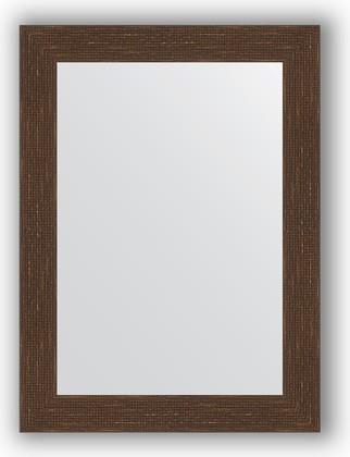 Зеркало в багетной раме 56x76см мозаика античная медь 70мм Evoform BY 3049