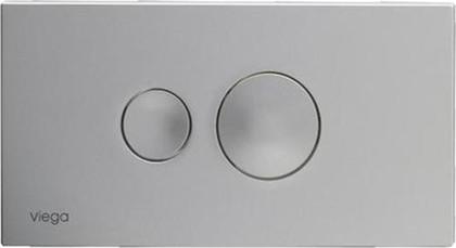 Кнопка смыва для унитаза пластиковая, хром матовый Viega Visign for Style 10 596347