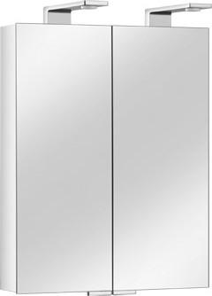 Зеркальный шкаф 65.0x75.2см двухдверный с подсветкой Keuco ROYAL UNIVERSE 12702171301