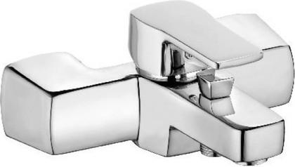 Однорычажный смеситель для ванны и душа, хром Kludi Q-BEO 504430565