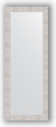Зеркало в багетной раме 56x146см соты алюминий 70мм Evoform BY 3115