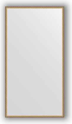 Зеркало 68x128см в багетной раме витая латунь Evoform BY 0754