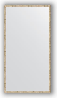 Зеркало 67x127см в багетной раме серебро-бамбук Evoform BY 0745