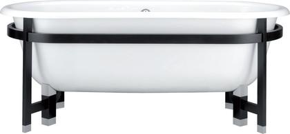 Овальная чугунная ванна 175x80см, Antislip Jacob Delafon CLEO E2945-00