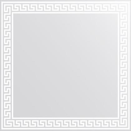 Зеркало для ванной с орнаментом 60x60см FBS CZ 0702