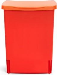 Ведро для мусора квадратное встраиваемое 10л красное Brabantia 482267