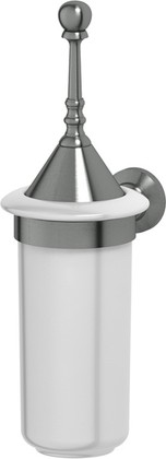 Туалетный ёршик 3SC Stilmar настенный, фарфор, серебро STI 424
