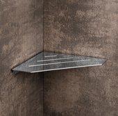 Полка для ванной Colombo Angolari угловая, 20.3см, хром B9655