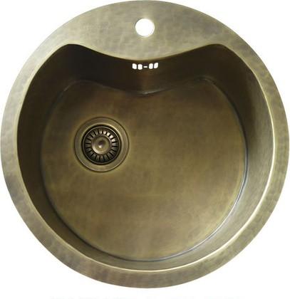 Кухонная мойка без крыла, латунь натуральная Omoikiri Sumida 4993054