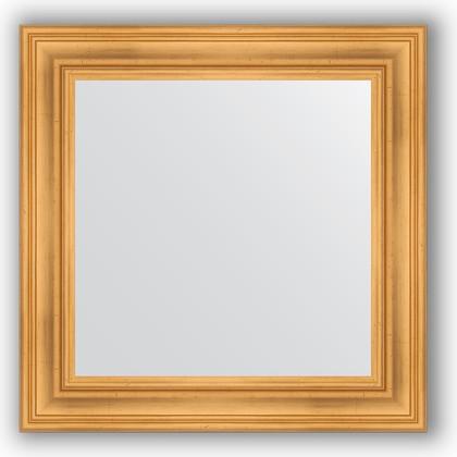 Зеркало в багетной раме 72x72см травленое золото 99мм Evoform BY 3155