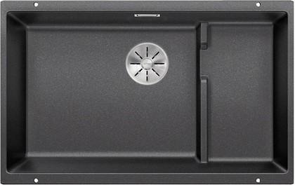 Кухонная мойка Blanco Subline 700-U Level, отводная арматура, антрацит 523538