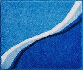 Коврик для ванной 50x60см синий Grund Luca b3742-076001247
