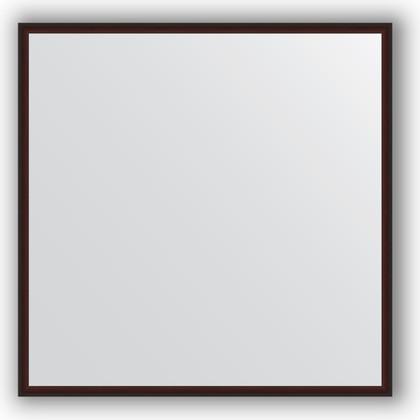 Зеркало 68x68см в багетной раме махагон Evoform BY 0655