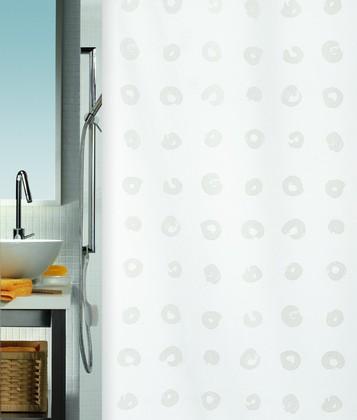 Штора для ванны 180x200см текстильная Spirella TOKYO 1037924