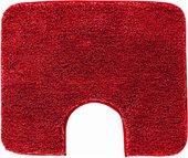 Коврик для туалета Grund Melange, 60x50см, полиакрил, красный 4102.06.4007
