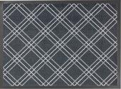 Коврик придверный Golze Homelike 50x75, серые ромбы 1676-40-10