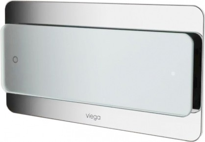 Кнопка смыва для инсталляции для унитаза, светло-серое прозрачное стекло Viega Visign for More 103 605643
