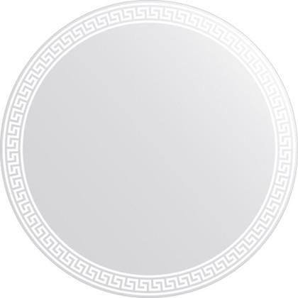 Зеркало для ванной с орнаментом диаметр 80см FBS CZ 0705