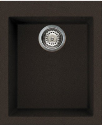Кухонная мойка без крыла, гранит, тёмный шоколад Omoikiri Bosen 41-DC 4993217