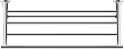 Полочка для полотенец Duravit Starck T 610мм, хром 0099441000