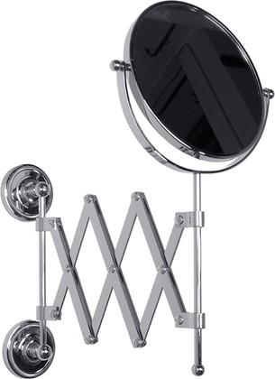 Зеркало косметическое настенное 2-х стороннее, хром TW Bristol TWBR024cr