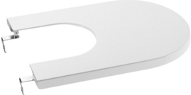 Крышка для биде, микролифт, белая Roca INSPIRA ROUND 780652200B