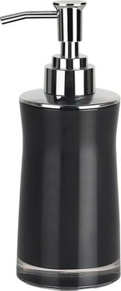 Ёмкость для жидкого мыла с дозатором пены чёрная Spirella Sydney Acrylic 1011330
