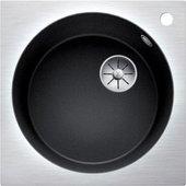 Кухонная мойка Blanco Artago 6 IF/A, отводная арматура, антрацит 521766
