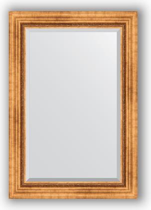 Зеркало с фацетом в багетной раме 66x96см римское золото 88мм Evoform BY 3438