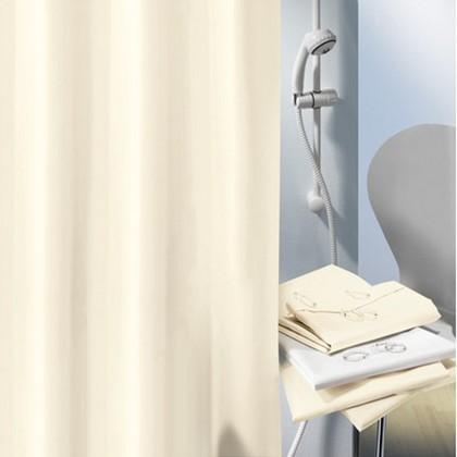 Штора для ванны 180x200см текстильная бежевая Spirella ALTRO 1029051