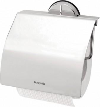 Держатель для туалетной бумаги с крышкой, полированная сталь Brabantia Profile 399909