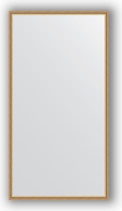 Зеркало 68x128см в багетной раме витое золото Evoform BY 0743