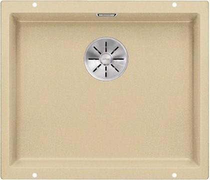 Кухонная мойка Blanco Subline 500-U, без крыла, отводная арматура, гранит, шампань 523438