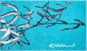 Коврик для ванной Grund Colani 23, 60x100см, бирюзовый 2611.16.174