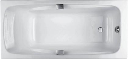 Ванна чугунная с отверстиями для ручек 160x75см Jacob Delafon REPOS E2929-00