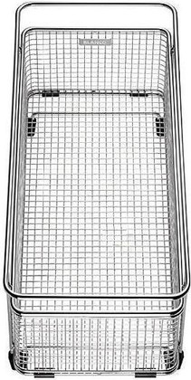 Корзина для посуды с держателем нержавеющая сталь 360x160x160мм Blanco 223297