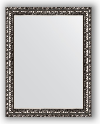 Зеркало 37x47см в багетной раме чернёное серебро Evoform BY 1340