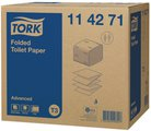Листовая туалетная бумага Tork Advanced 114271