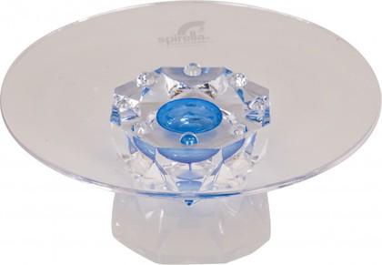 Мыльница акриловая прозрачная Spirella Diamant 1001534