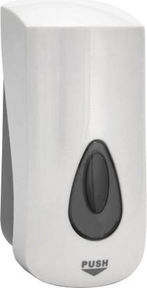 Дозатор для мыла Bemeta Hotel 1000мл, белый, пластик 121109036