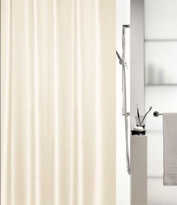 Штора для ванны 240x180см текстильная шампань Spirella SHINE 1015641