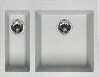 Кухонная мойка без крыла, гранит, белый Omoikiri Bosen 59-2-WH 4993152