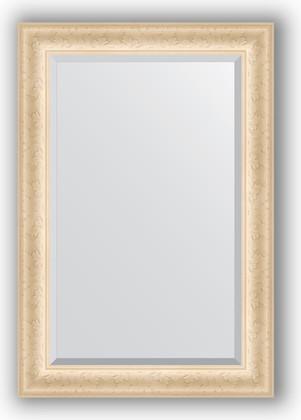 Зеркало 65x95см с фацетом 30мм в багетной раме старый гипс Evoform BY 1272