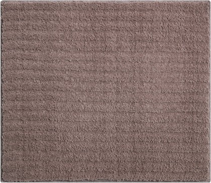 Коврик для ванной Grund Riffle, 50x60см, полиэстер, какао b4001-766296