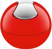 Настольный контейнер для мусора Spirella Bowl-Shiny, 1л, красный 1014967
